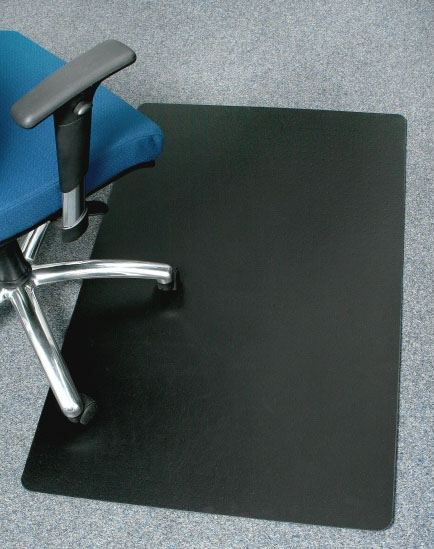 Black Desk Chair Mats are Black fice Mats by American