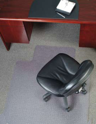 Chair Mats for Carpeted Surfaces ... & Chair Mats are Desk Mats / Office Mats | American Chair Mats