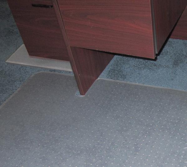 Lovely Custom Chair Mats For Carpet ...