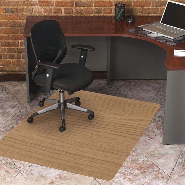 Superbe Laminate Wood Design Chair Mats