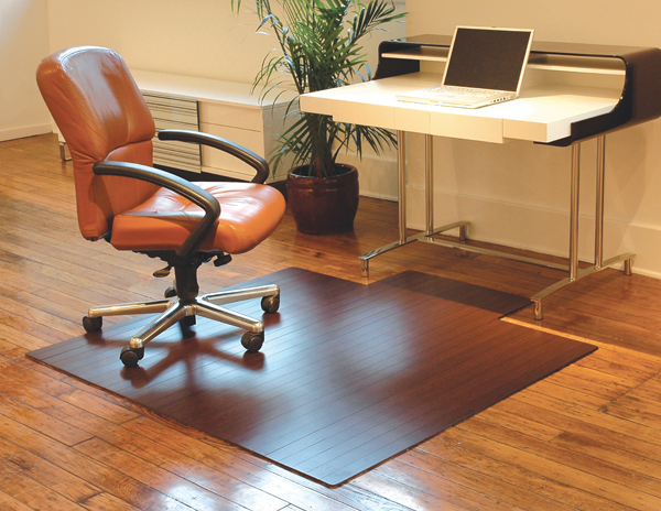 bamboo desk chair mats 516