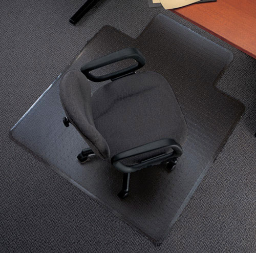 Black Desk Chair Mats are Black Office Mats by American Chair Mats