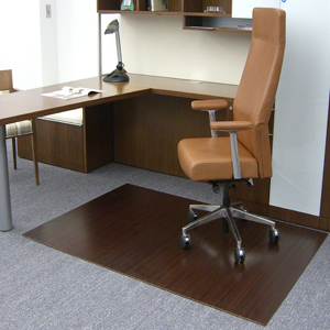 Permalink to Bamboo Office Chair Mats