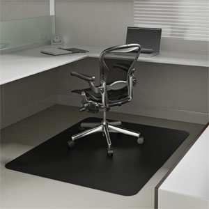 Black Desk Chair Mats