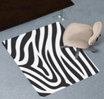 Design Print Chair Mats